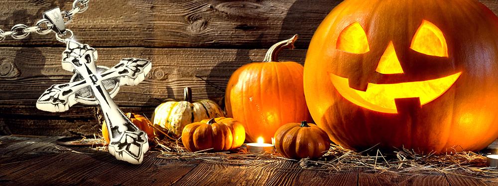 Fürchterlich schöner Halloween-Schmuck