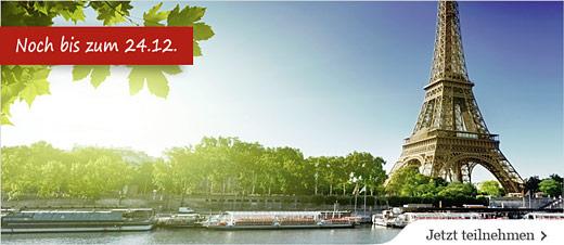 Paris-Reise gewinnen