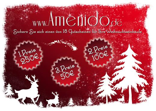 Amenido Weihnachtsgewinnspiel