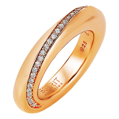 Esprit Collection Ring Peribess Ros Gold ELRG91429B