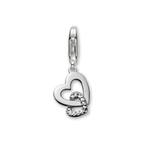 Esprit ES-Two Hearts Charm ESZZ90487A000