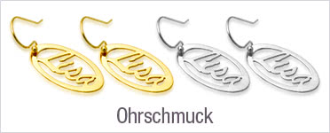 Namensohrschmuck