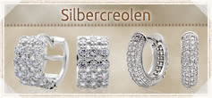 925 Silber Creolen