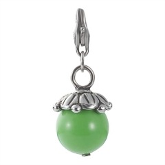 EDC Charm Hot Glam Glowing Green Berry EECH10123H000
