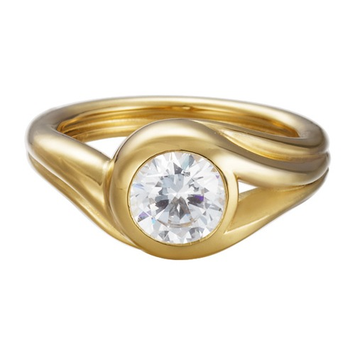 Esprit Ring ES-Glamour Solitaire Gold ESRG92036B