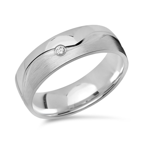 Exklusiver 925 Silberring: Ring Silber Zirkonia R8529cz