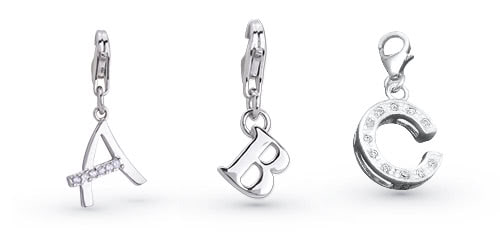 Buchstaben Charms