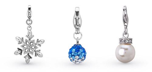 Weitere Charms mit Perlen